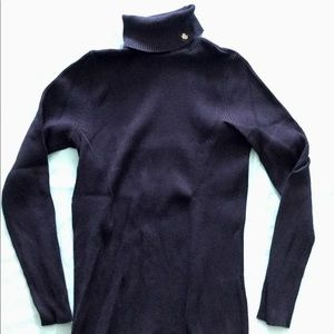 Ralph Lauren roll neck sweater, navy